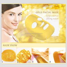 Pure Natural private label 24K gold collagen crystal facial mask