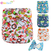 Elinfant new print PUL wholesale cloth baby nappy washable diaper cover