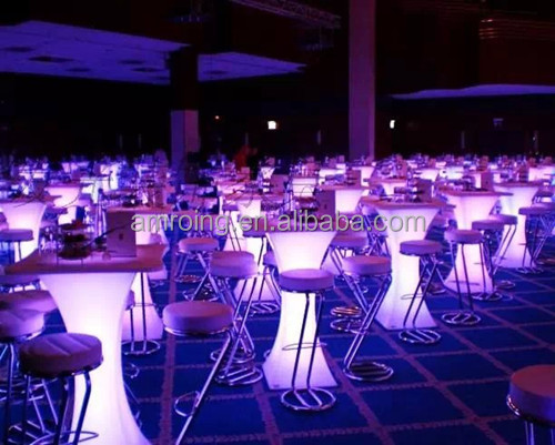 led furniture for events party bar lighting