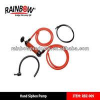 RBZ-009 factory supplier hand siphon air pump,gasoline pump
