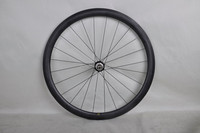 Dengfu wholesale bike parts carbon clincher/tubular/tublesse wheels for bicycle nice concealed nipples