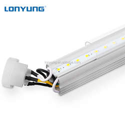 Round Italy CE compatible T8 LED Tube Lighting 1200mm 18w T8 LED Fluorescent Lamp