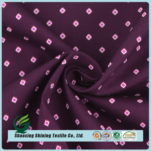 new fashion style custom wholesale woven cotton poplin printed fabric