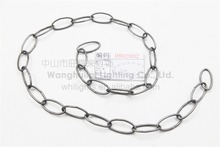Hot selling decorative link chain for hanging lamp wholesales