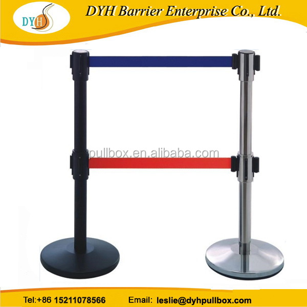 Factory direct professional retractable barrier safety tape