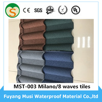 Cheap Roofig Tile/Color Stone Coated Roofing Shingles/Aluminum Zinc Steel Roof Tile