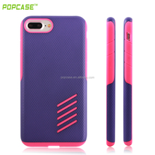 Low Price PC+SILIOCNE Colorful Phone Case for Iphone7
