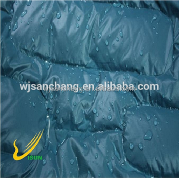 100% nylon fabric 300T ripstop for ski wear and waterproof