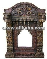 WOODEN CRAFTED INDIAN JHAROKHA