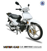 popular 110cc / 125cc cub motorcycle MH110-5--Bizz copy with alloy wheel /cub motorcycle
