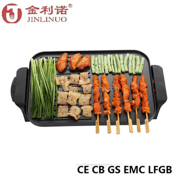 multi-function round electric grill