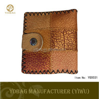 Wallet men cheap price genuine leather smart wallet