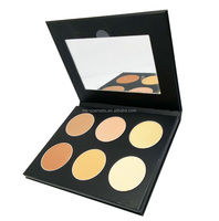 6 Colors Contour Powder Kit Make Up Private Label OEM