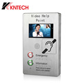 Outdoor Indoor Video Door Phone Intercom System Voip IP Analog Emergency Telephone