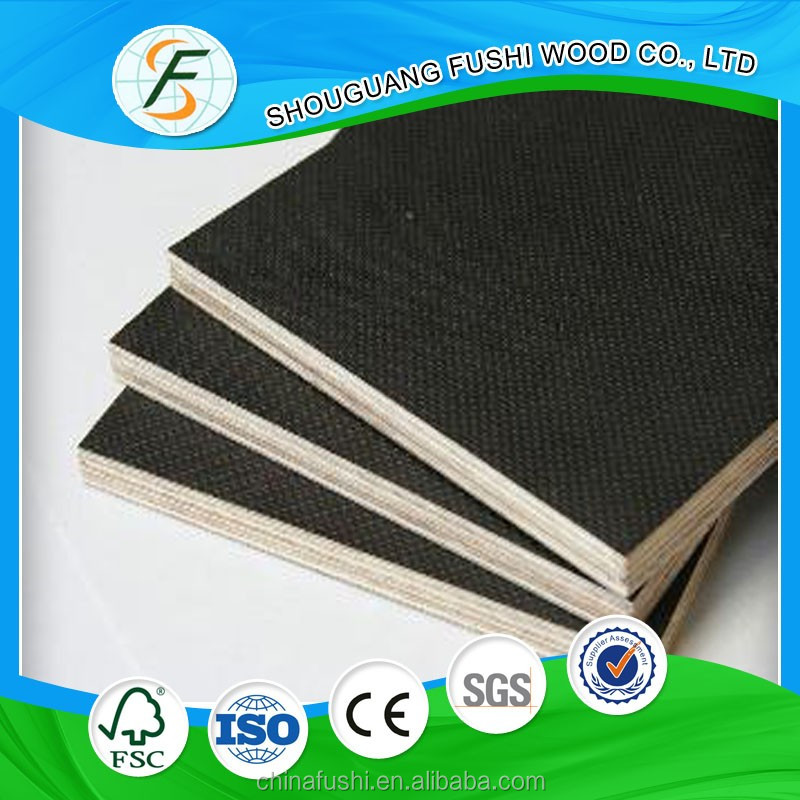 construction materials 12mm 15mm 18mm waterproof film faced plywood made in china hot sale