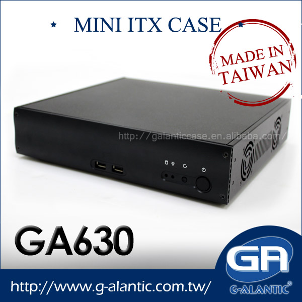 GA630 - Industrial Computer Mini ITX PC Case with 2 PCI expansion