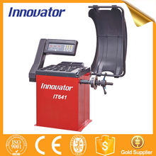 Automatic car wheel balancing and wheel alignment machine IT641
