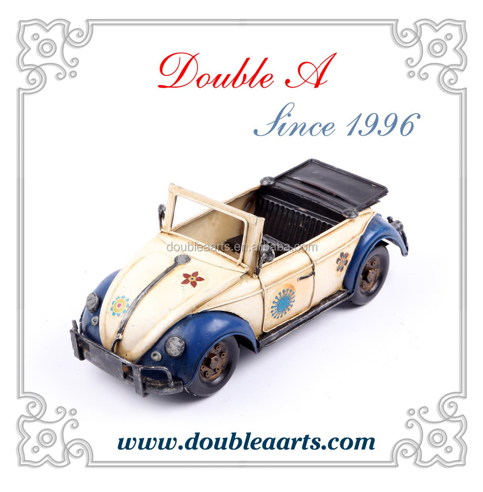 Model vintage car handmade car model creative home decorative classic model car
