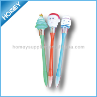 christmas light up pen hot sales promotional pen