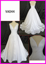 VA044 Guangzhou manufacturer latest design simple style wedding gowns