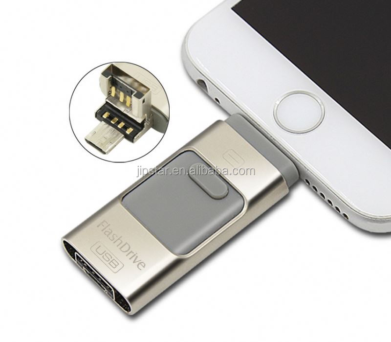 iFlash OTG USB Micro External Storage Memory Disk For iPhone 6s