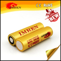 Top sell A quality IMREN 18650 3500mah rechargeable battery with lowest price