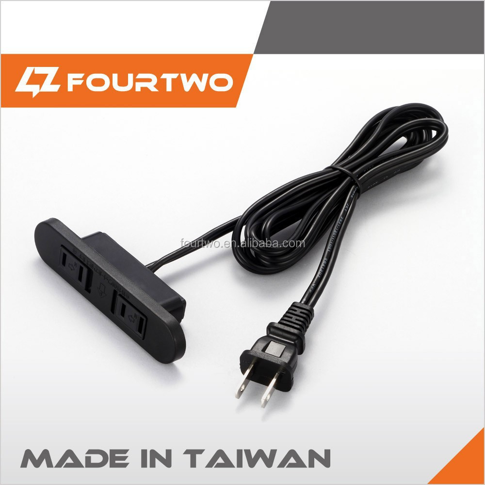 Taiwan high quality car cigarette lighter socket adapter plug