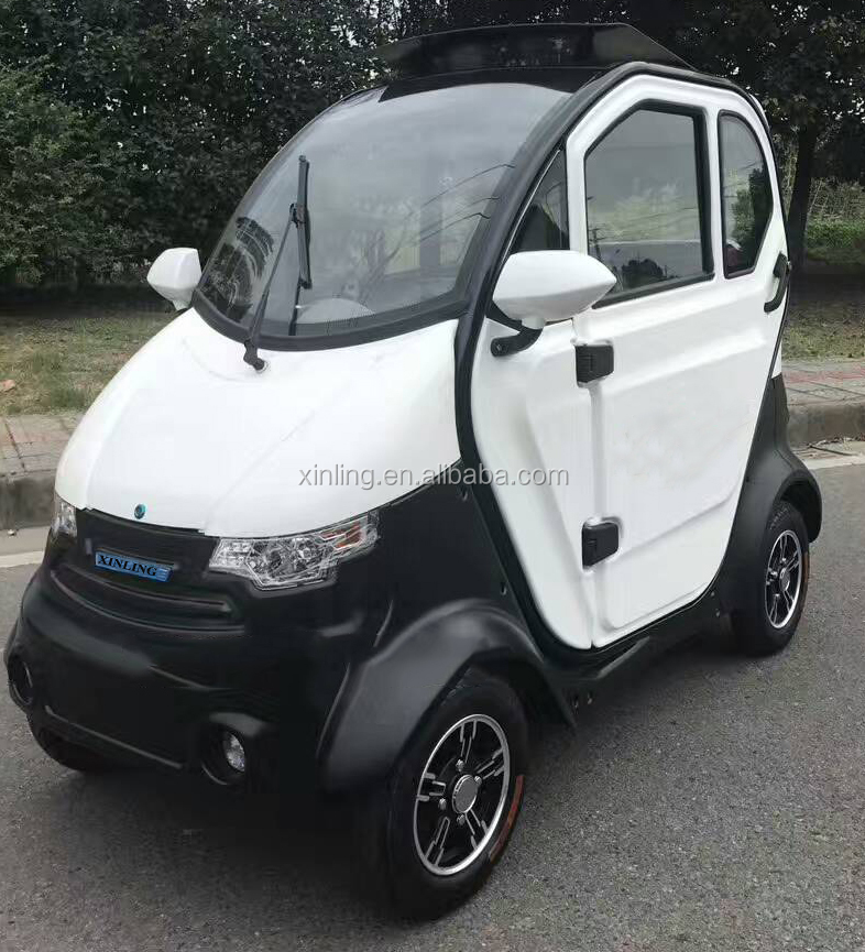 china new model cheap electric enclosed mini car passenger taxi cabin for sale