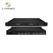 16/32 in 1 MPEG4/H.264 HD SD IPTV Video Multi Channel Streaming 1024 Encoder 24 kanaal catv encoder modulatorencoder modulator