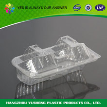 Plastic Hinged Cupcake Box - 2 Cavity