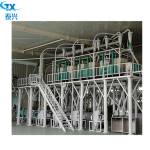 50ton wheat flour mill plant with low price