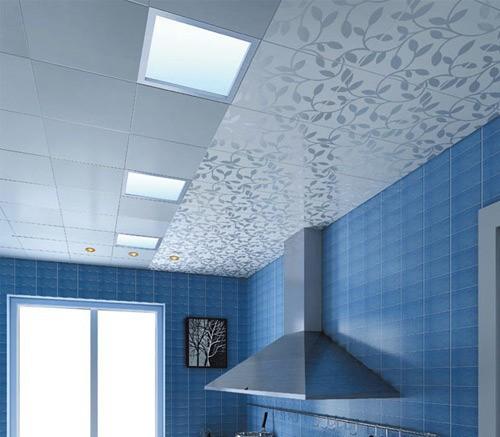 Pvc plafond rev tement stratifi panneaux muraux pour for Panneaux muraux salle de bain