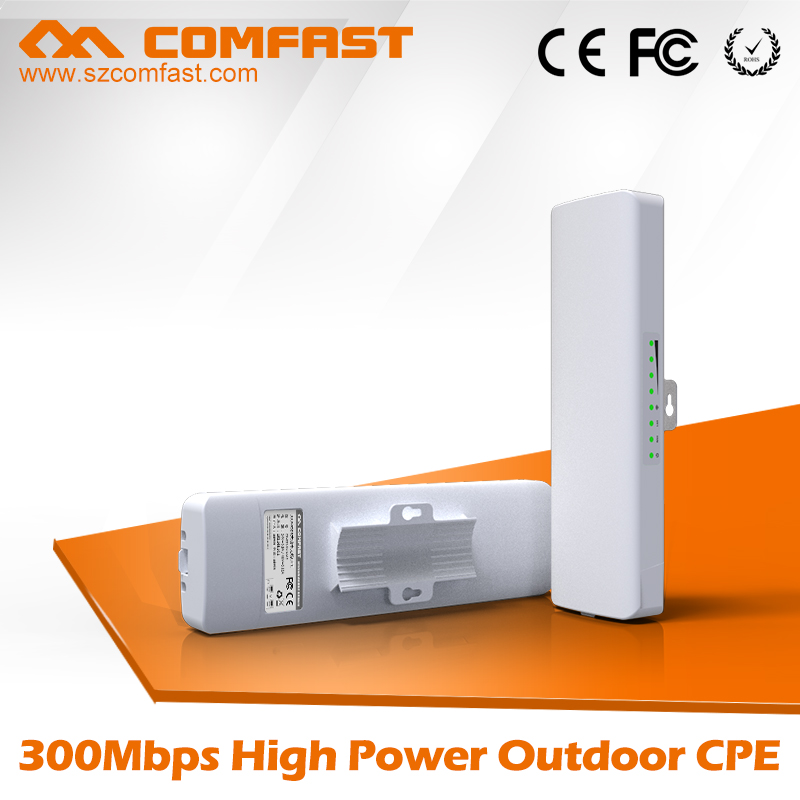 New Arrival Outdoor CPE/Bridge COMFAST CF-E314N Anti-Lightning&Anti-Freeze Wifi Bridge Rj45 Wireless Adapter