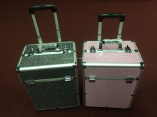 NEW ALUMINUM BLING Cosmetic Beauty Box, Jewlery Box