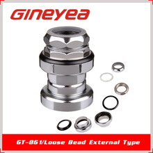 Gineyea GH-861 Bike Parts Outside Cups Threaded Bicycle Headparts Urban