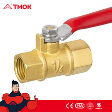 brass gas stove valve 1/4 inch brass color NPT/G thread gas valve for BBQ and high pressure in OUJIA VALVE FACTPRY