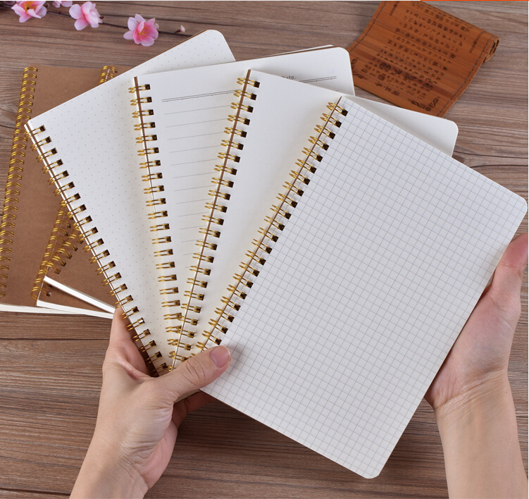 Cute small size memo pads spiral notebook