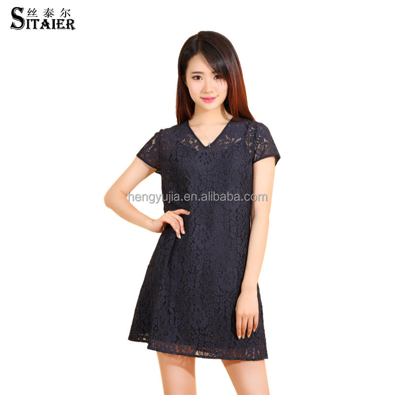 New brand 2016 lace dress girls made in China