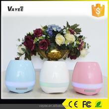 Modern flower pot planter touch play music Bluetooth bright color balcony flower pot