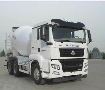 with good quality sinotruck 6*4 concrete mixer truck