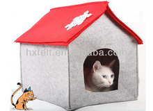 Cheap and soft felt pet house for small pet( Manufacturer)