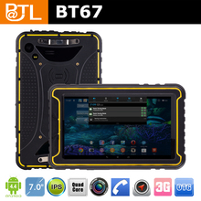 Low price LT0325 BATL BT67 ip67 nfc brightness 450nit 3g waterproof tablet computer