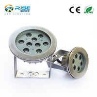 IP68 Waterproof LED Fountain/Swimming Pool/Pond Lights
