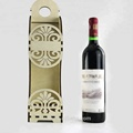 Laser cut Plywood wine Gift box