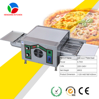 Hot Sale Big Capacity Chain Type Pizza Oven Conveyor/Commercial Pizza Ovens Sale/Tunnel Pizza Oven