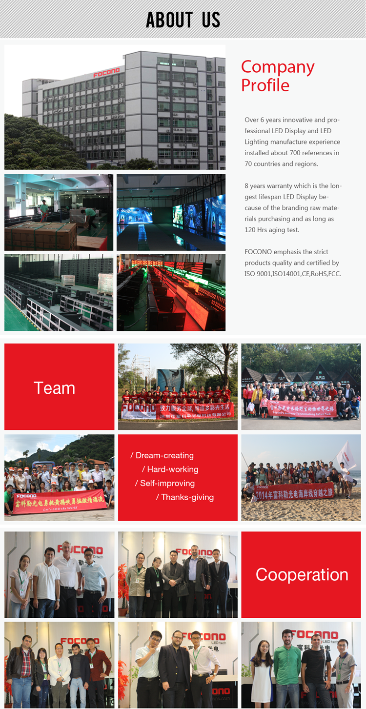 outdoor led display price video P16 sport stadium led screen