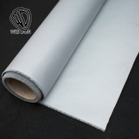 0.5mm grey silicon coated aluminum foil insulation blanket