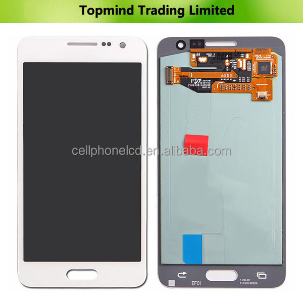 Original lcd Digitizer With Touch For Samsung Galaxy A3 A300F A300FU LCD Screen Replacement