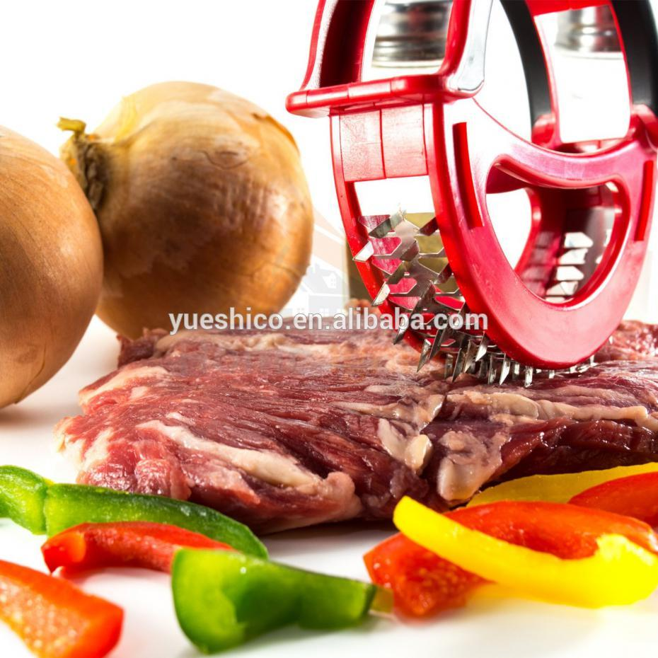 Kitchen Meat Tenderizer Microplane Beef Pork Easy Prep Steak Sharp Cutting Surface Grater Blade Cooking Meat Tool