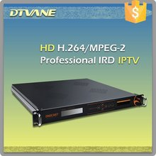 DMB-9020A SD/HD MPEG2/H.264 decoding CI+BISS Decryption Professional HD DVB-S2 IRD